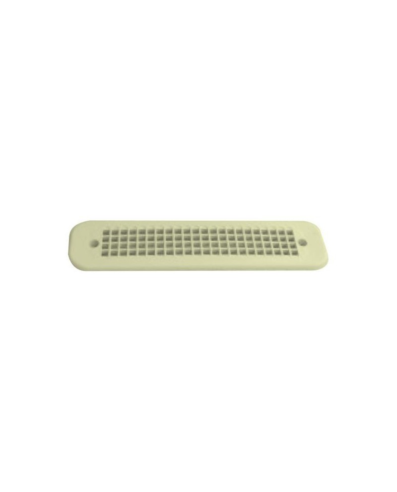 Grille a ration cr me for Grille aeration volet roulant
