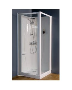 Cabine douche d'angle 80x80